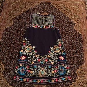 c82bb972c6d Anthropologie Dresses - Anthropologie Kira embroidered tunic dress(Maeve)
